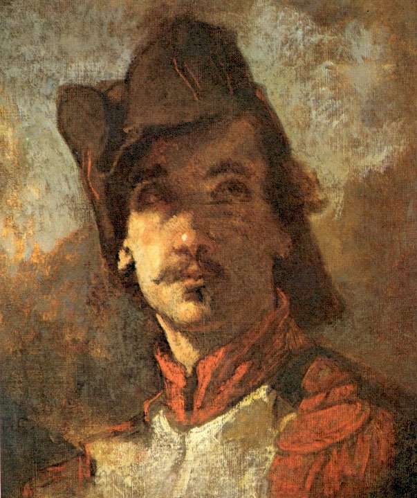 French Volunteer (study for the Enrollment) | Thomas Couture | Oil Painting