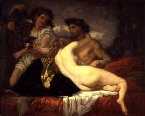 Horace and Lydia | Thomas Couture | Oil Painting
