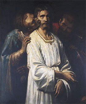 Le Baiser de Judas | Thomas Couture | Oil Painting