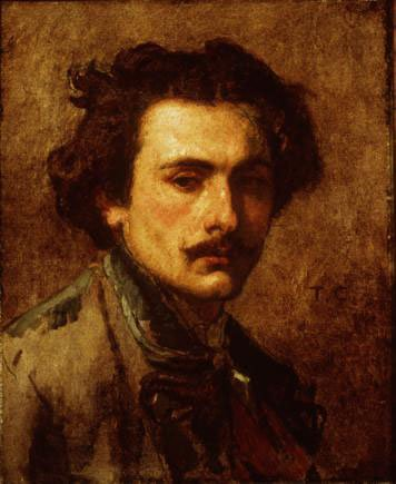 Portrait of the Artist   Thomas Couture   Oil Painting