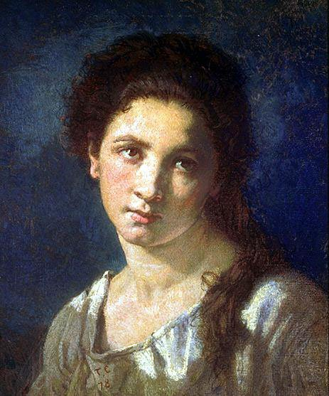 The Artists Daughter | Thomas Couture | Oil Painting