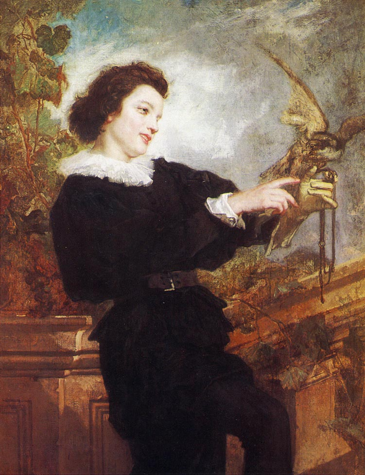 The Falconer | Thomas Couture | Oil Painting