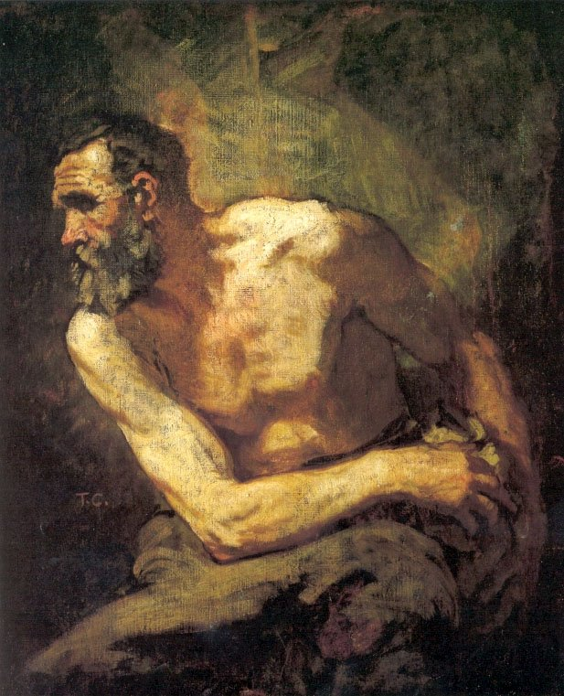 The Miser (Study for Timon of Athens) | Thomas Couture | Oil Painting