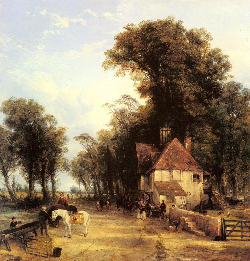 The Nearest Way In Summer | Thomas Creswick | Oil Painting