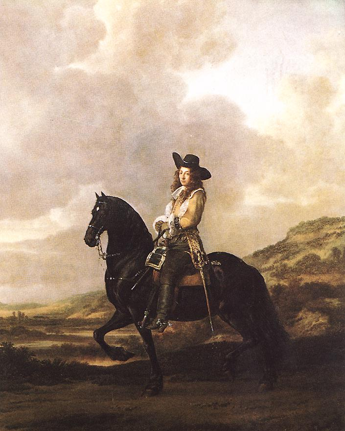 Equestrian Portrait Of Pieter Schout 1660 | Thomas de Keyser | Oil Painting