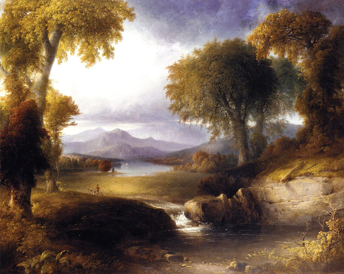 Autumn Landscape  1835 | Thomas Doughty | Oil Painting