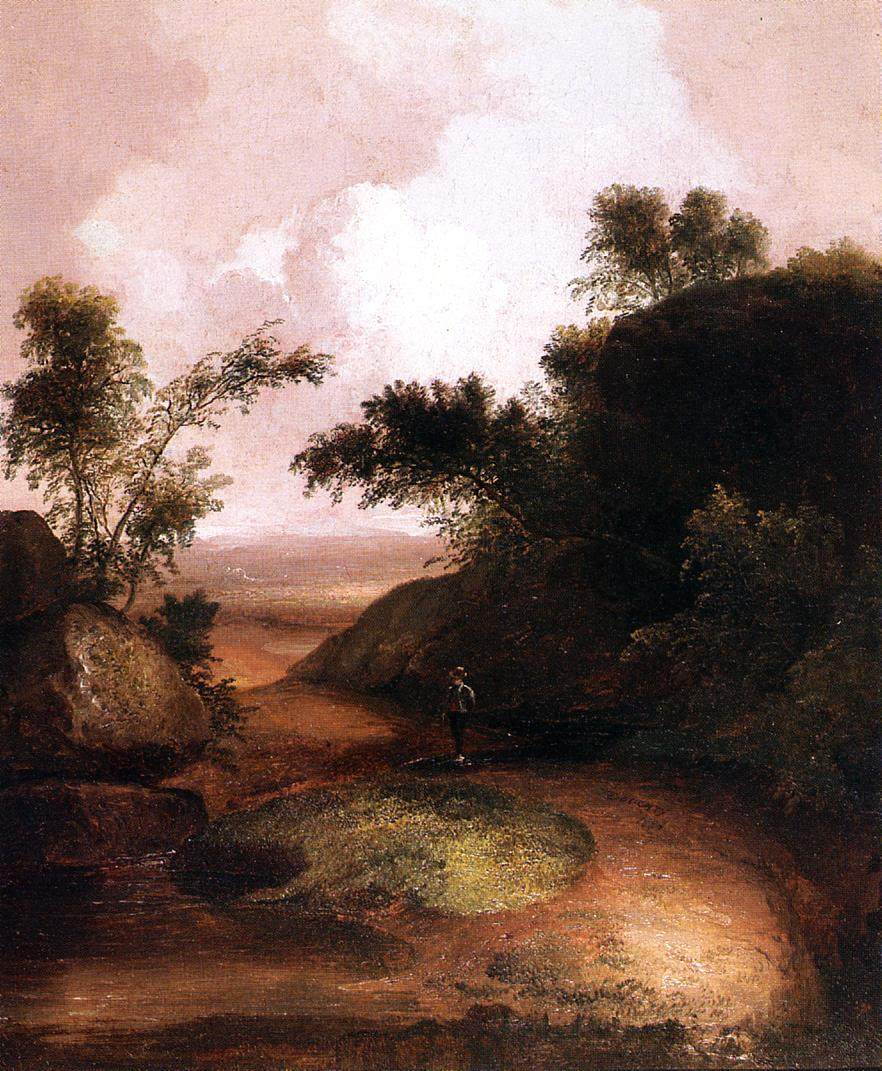 Landscape with Figure  1836 | Thomas Doughty | Oil Painting