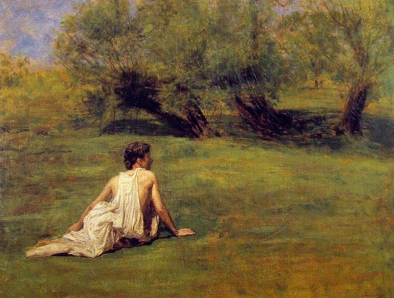 An Arcadian | Thomas Eakins | Oil Painting