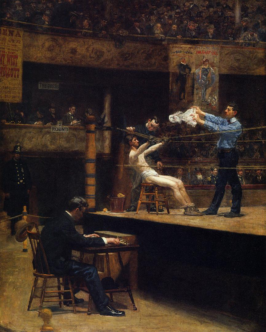Between Rounds 1898-1899 | Thomas Eakins | Oil Painting