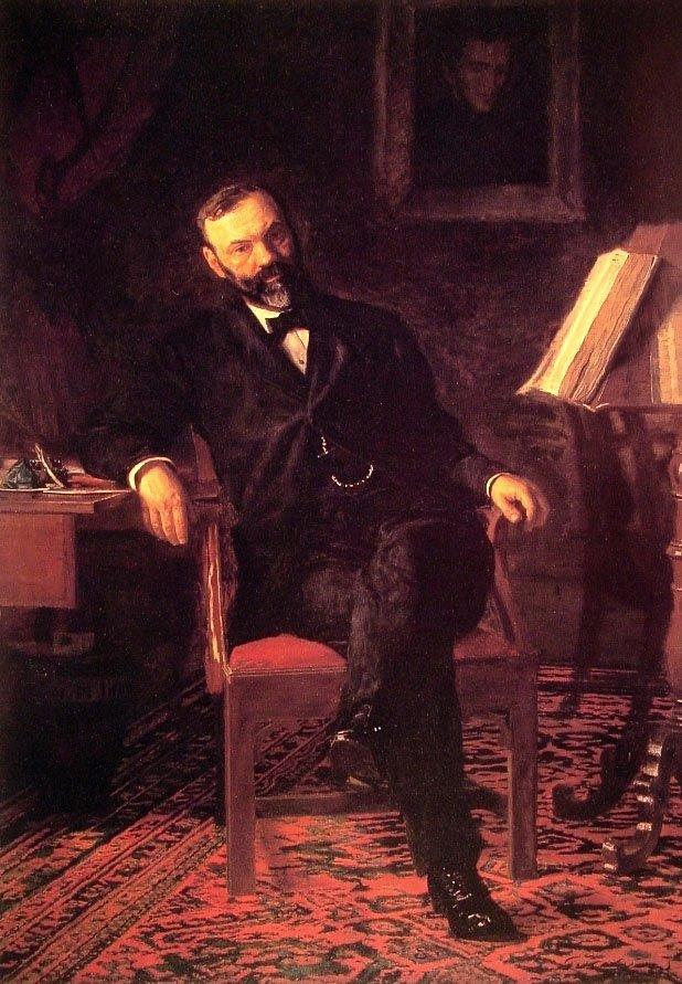 Dr John H Brinton | Thomas Eakins | Oil Painting