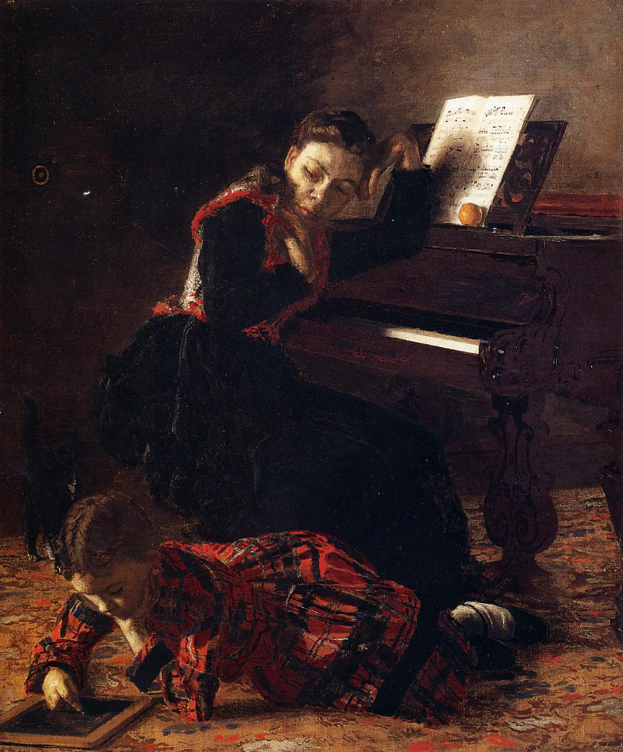 Home Scene 1871 | Thomas Eakins | Oil Painting