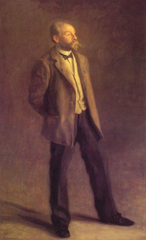 John McLure Hamilton | Thomas Eakins | Oil Painting