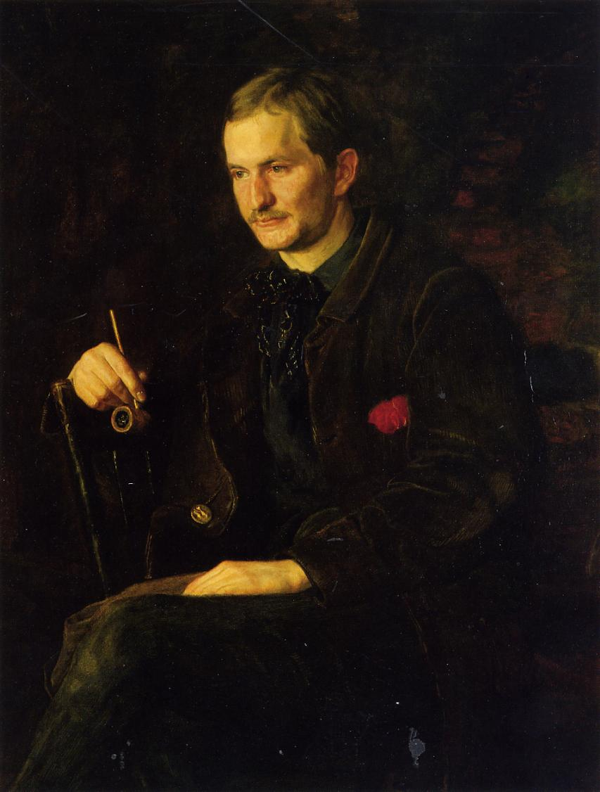 The Art Student (aka Portrait of James Wright) 1890 | Thomas Eakins | Oil Painting