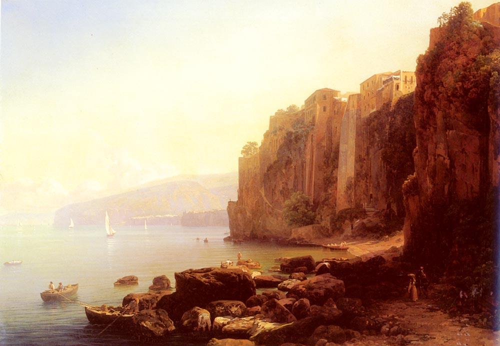 Sorrento | Thomas Ender | Oil Painting