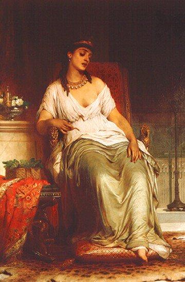 Cleopatra 1876 | Thomas Francis Dicksee | Oil Painting