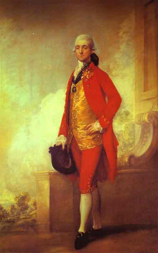 Captain William Wade 1771 | Thomas Gainsborough | Oil Painting