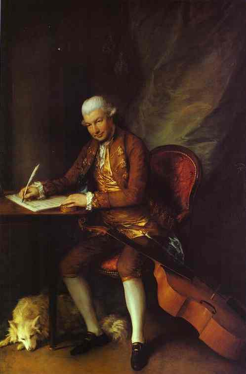 Carl Friedrich Abel 1777 | Thomas Gainsborough | Oil Painting