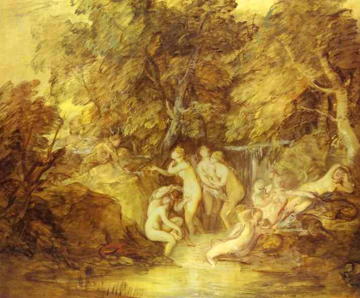 Diana And Actaeon 1785 | Thomas Gainsborough | Oil Painting