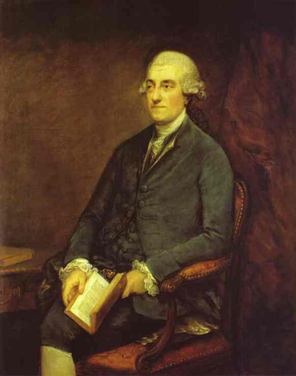 Dr Isaac Henrique Sequeira 1775 | Thomas Gainsborough | Oil Painting
