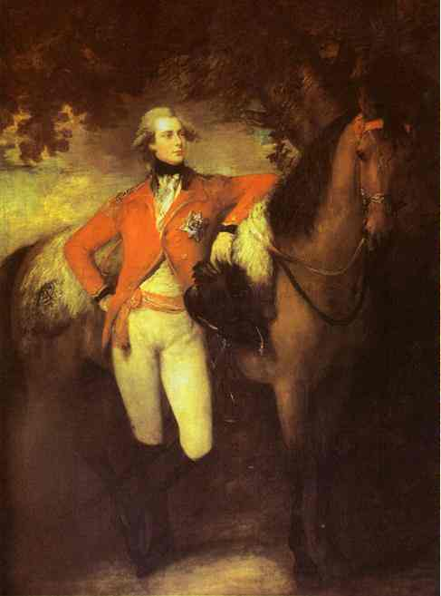 George Prince Of Wales Later George Iv 1782 | Thomas Gainsborough | Oil Painting