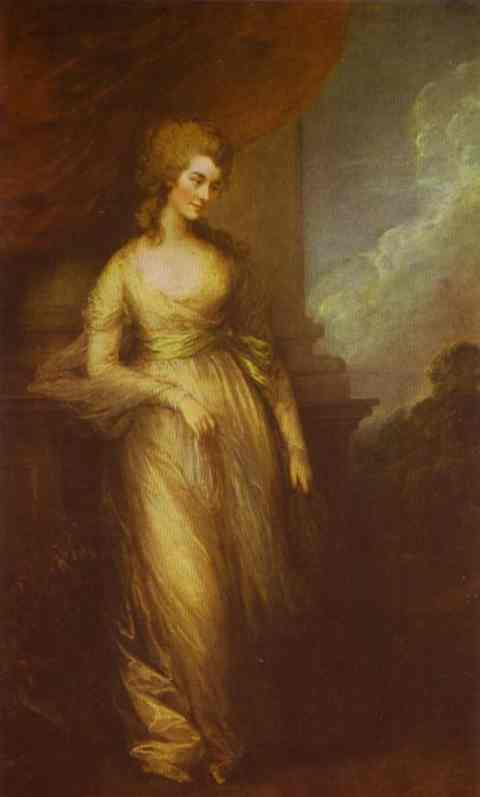 Georgiana Duchess Of Devonshire 1783 | Thomas Gainsborough | Oil Painting