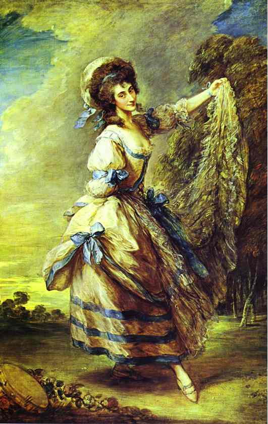 Giovanna Baccelli Exhibited R A 1782 | Thomas Gainsborough | Oil Painting
