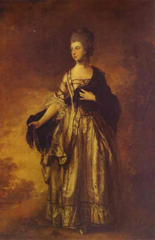 Isabella Viscountess Molyneux 1769 | Thomas Gainsborough | Oil Painting