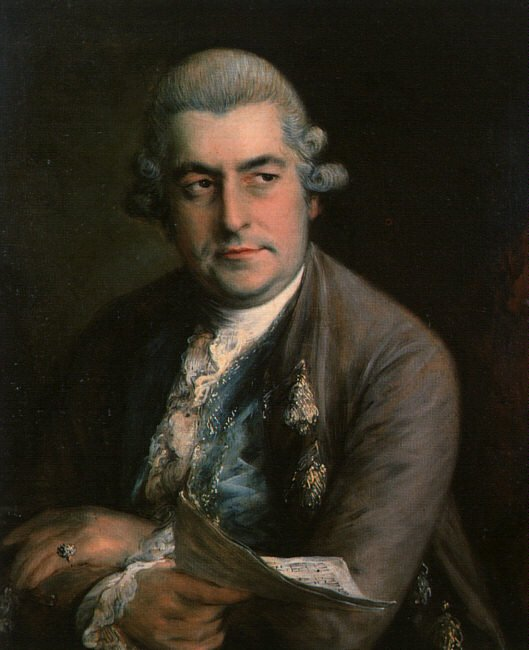 Johann Christian Bach 1776 | Thomas Gainsborough | Oil Painting