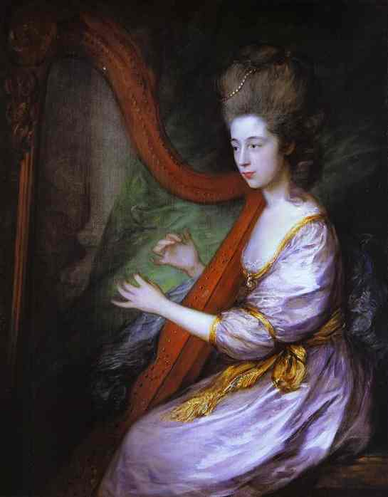 Louisa Lady Clarges 1778 | Thomas Gainsborough | Oil Painting