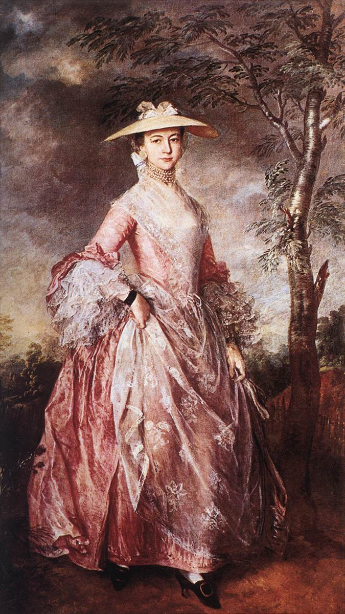 Mary Countess Of Howe 1764 | Thomas Gainsborough | Oil Painting