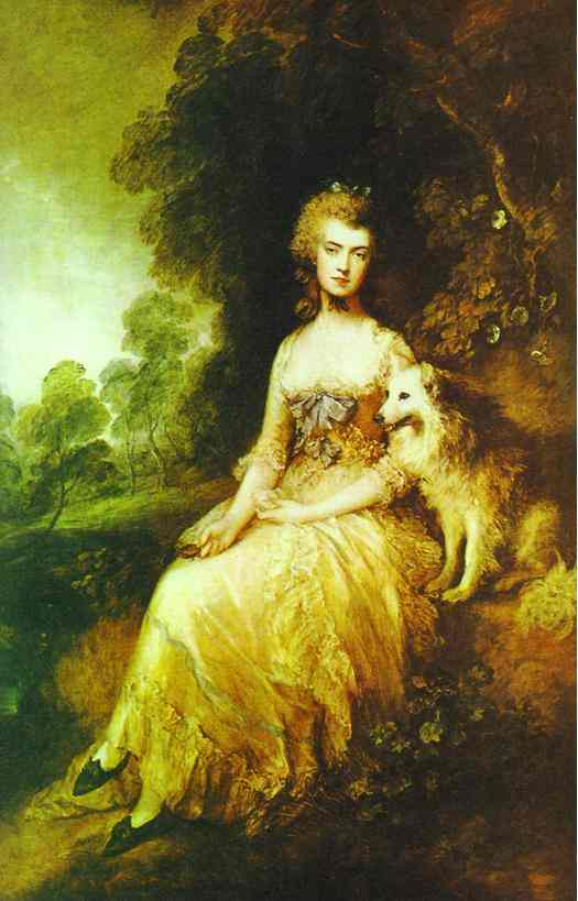 Mrs Perdita Robinson 1781-1782 | Thomas Gainsborough | Oil Painting