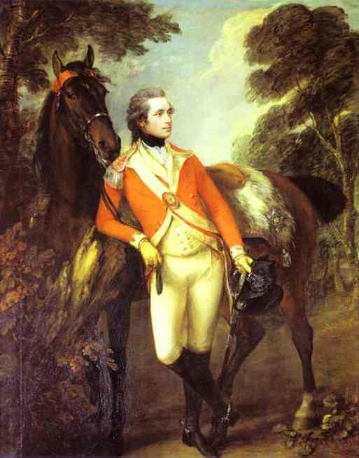 Portrait Of John Hayes St Leger 1782 | Thomas Gainsborough | Oil Painting