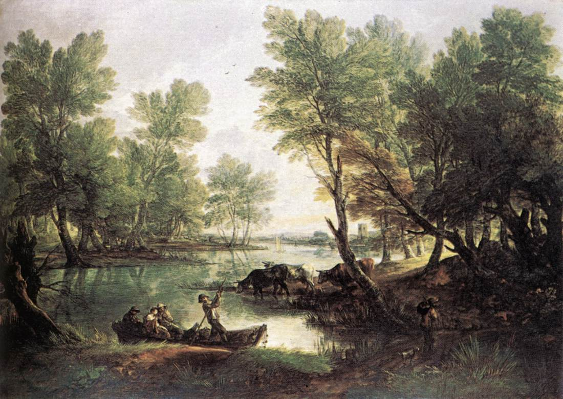 River Landscape 1768-70 | Thomas Gainsborough | Oil Painting