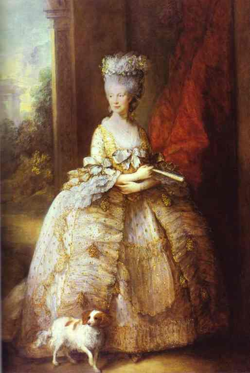 Portrait Of Queen Charlotte 1781 | Thomas Gainsborough | Oil Painting