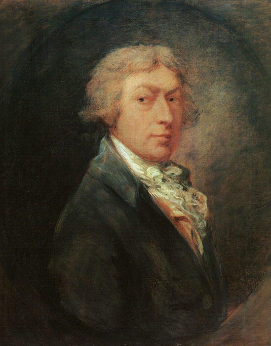 Self Portrait 1787 | Thomas Gainsborough | Oil Painting