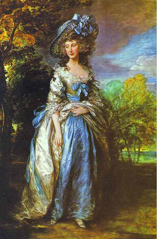 Sophia Charlotte Lady Sheffield 1785-1786 | Thomas Gainsborough | Oil Painting
