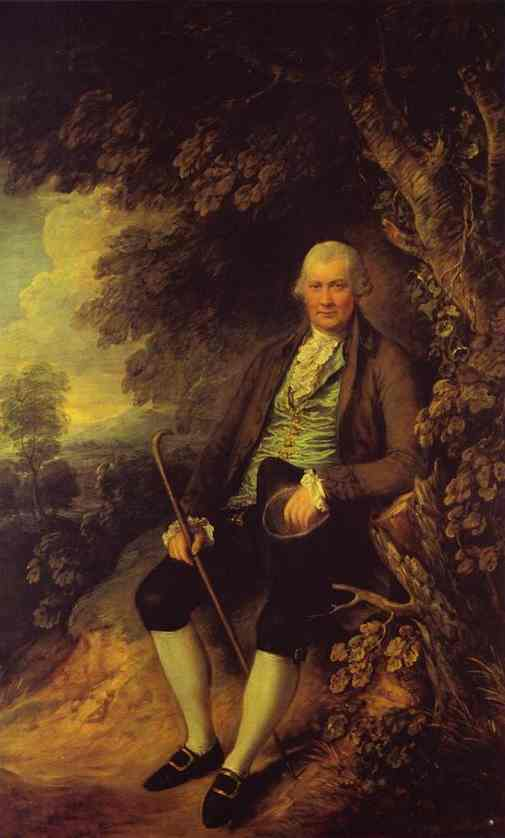 Squire John Wilkinson 1776 | Thomas Gainsborough | Oil Painting