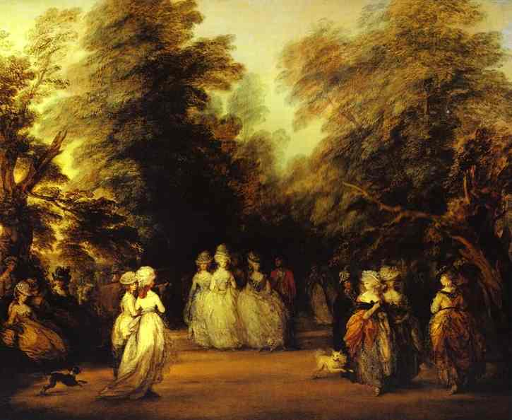 The Mall 1783 | Thomas Gainsborough | Oil Painting