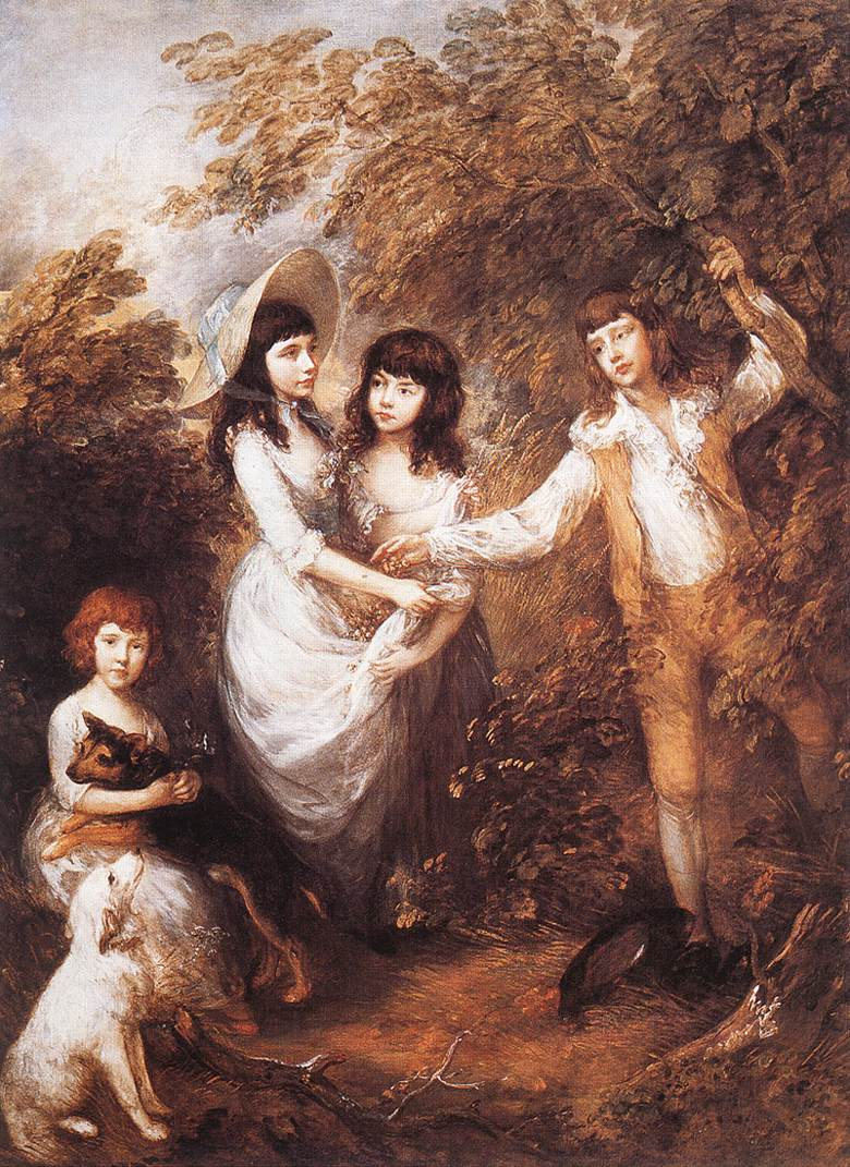The Marsham Children 1787 | Thomas Gainsborough | Oil Painting