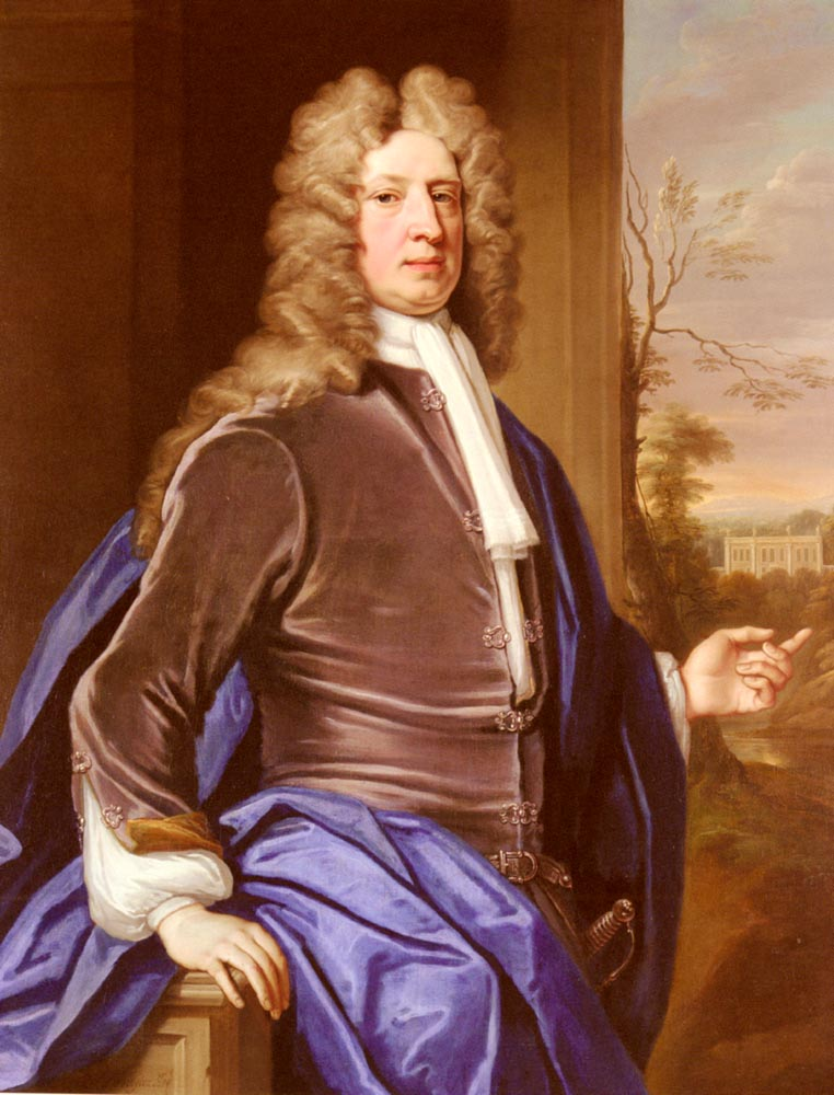 Portrait Of George Dodington | Thomas Gibson | Oil Painting