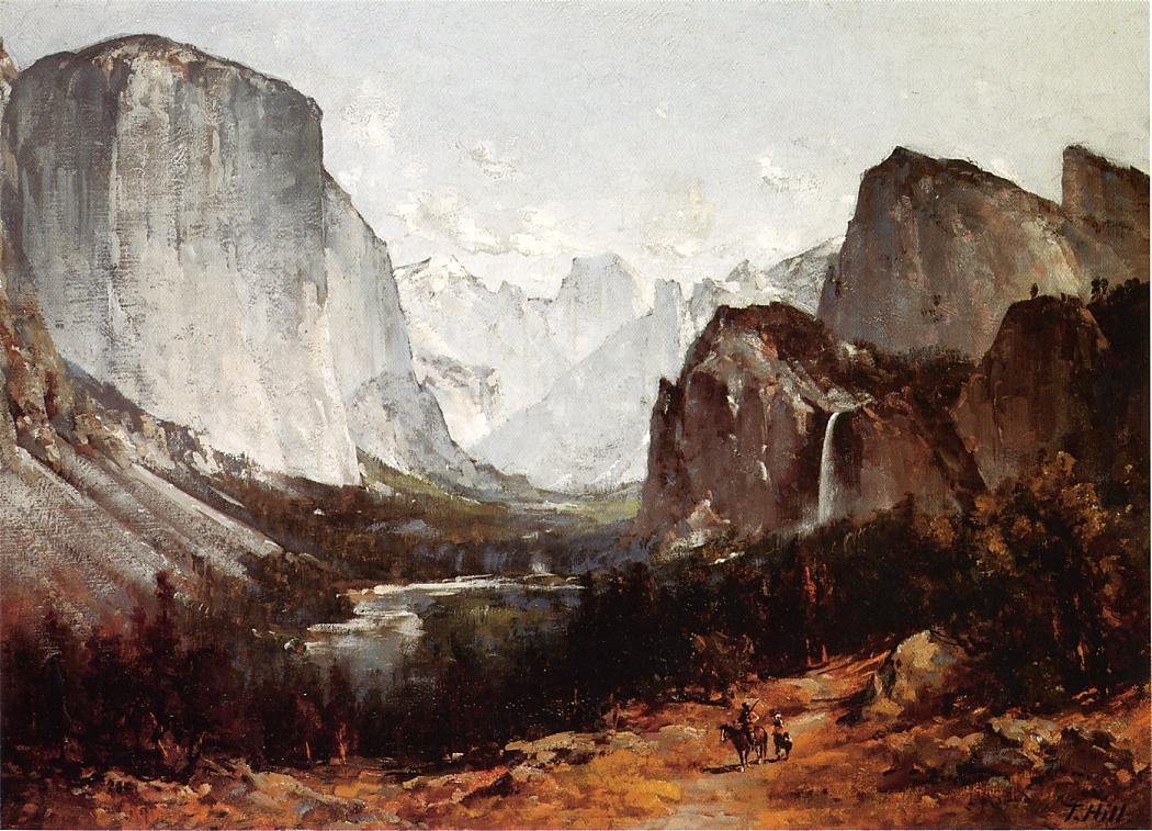 A View of Yosemite Valley | Thomas Hill | Oil Painting