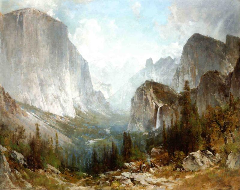 Gates of Yosemite 1888 | Thomas Hill | Oil Painting