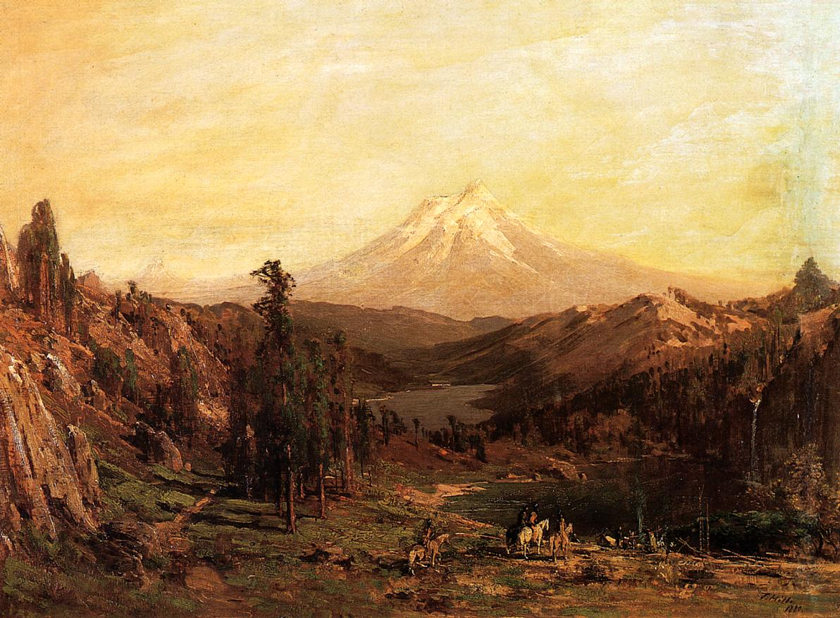 Mount Shasta and Castle Lake California 1880 | Thomas Hill | Oil Painting