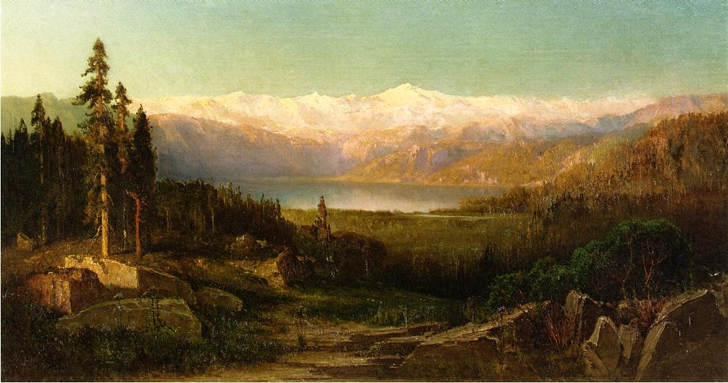 Rocky Mountains 1869 | Thomas Hill | Oil Painting