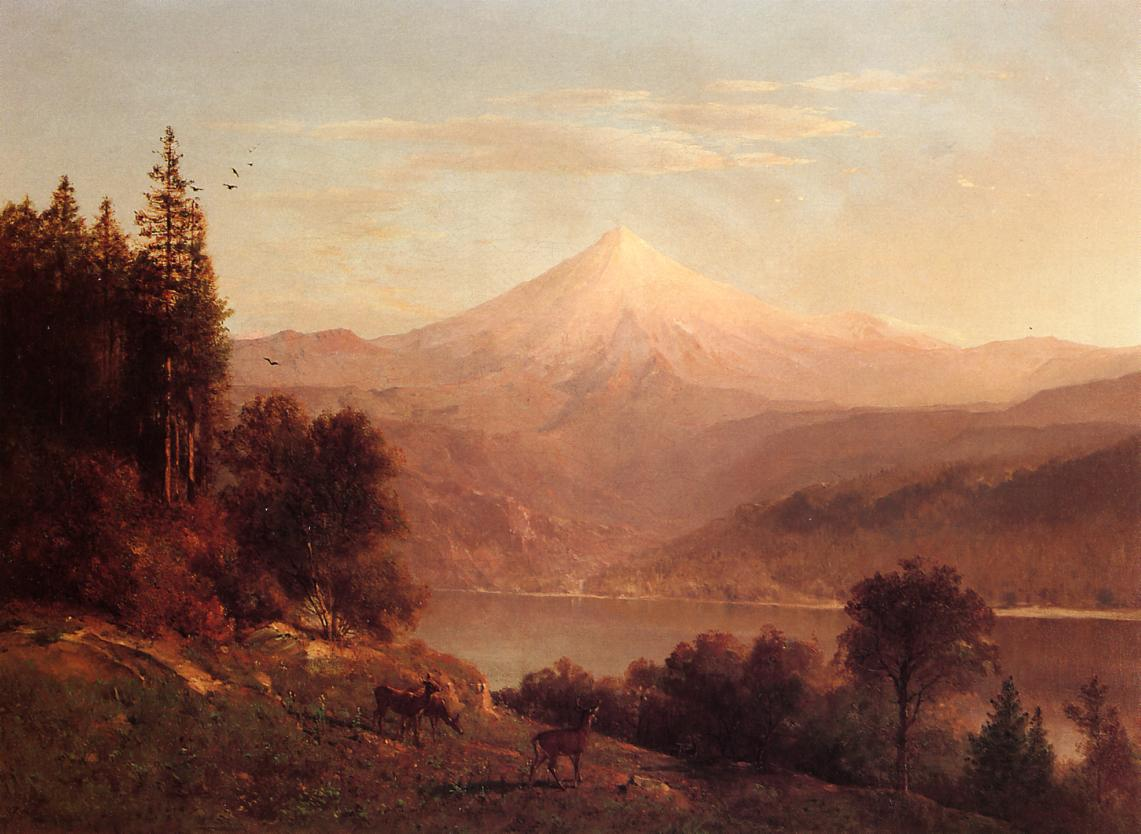 View of Mount Hood 1866 | Thomas Hill | Oil Painting