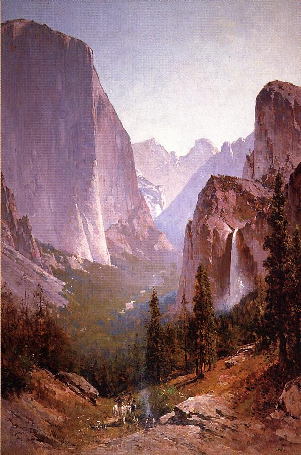 Yosemite | Thomas Hill | Oil Painting
