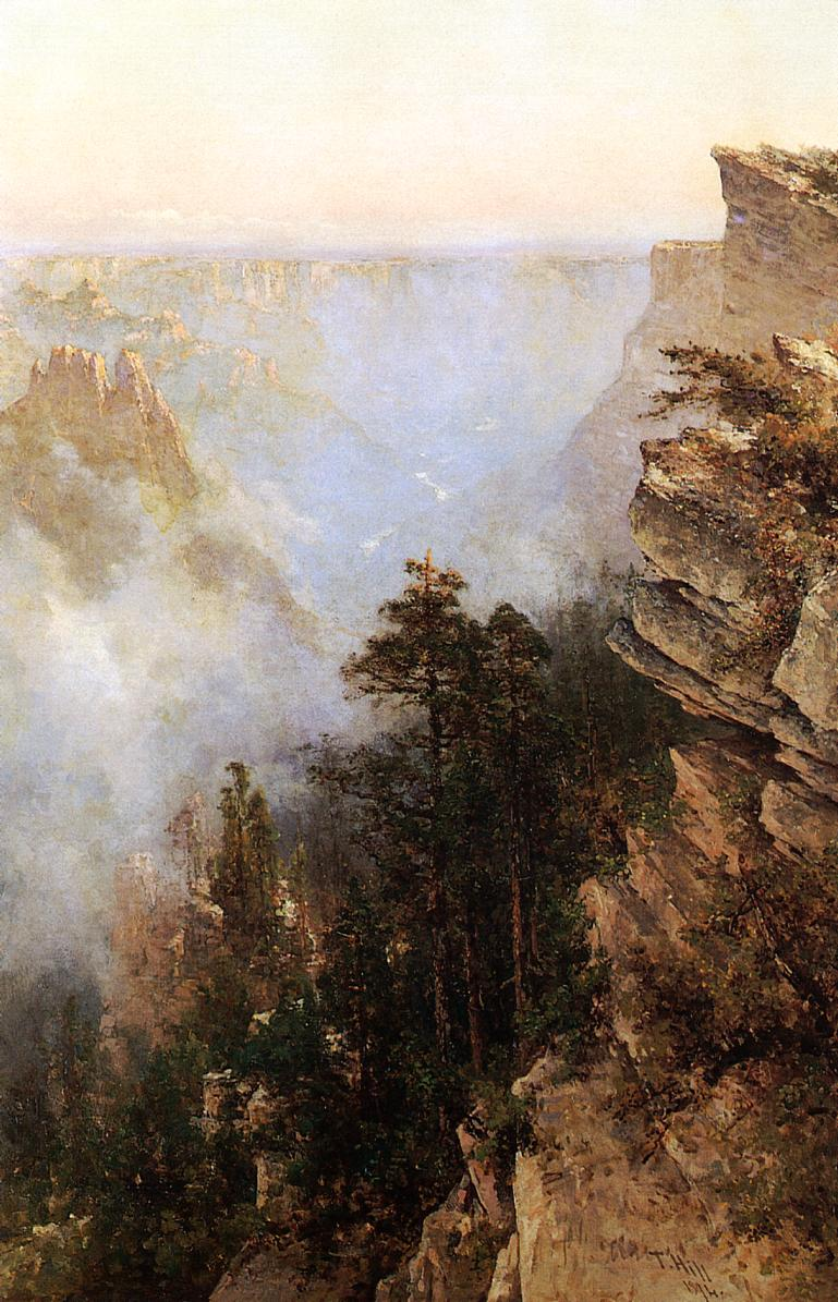 Yosemite Canyon 1894 | Thomas Hill | Oil Painting