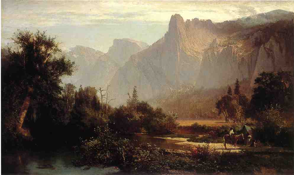 Yosemite Valley 1869 | Thomas Hill | Oil Painting