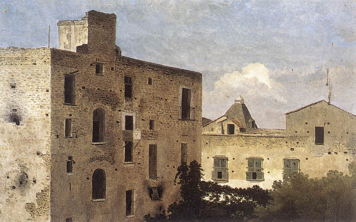Houses In Naples 1776-83 | Thomas Jones | Oil Painting