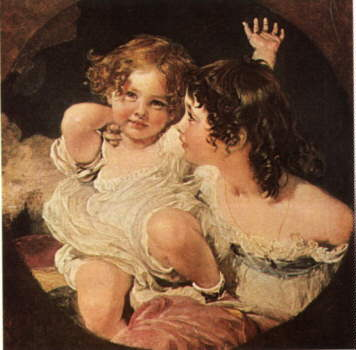 Calmady Children | Thomas Lawrence | Oil Painting